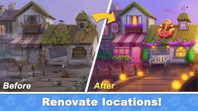 download town blast city restoration mod apk