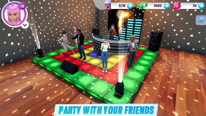 download virtual sim story apk