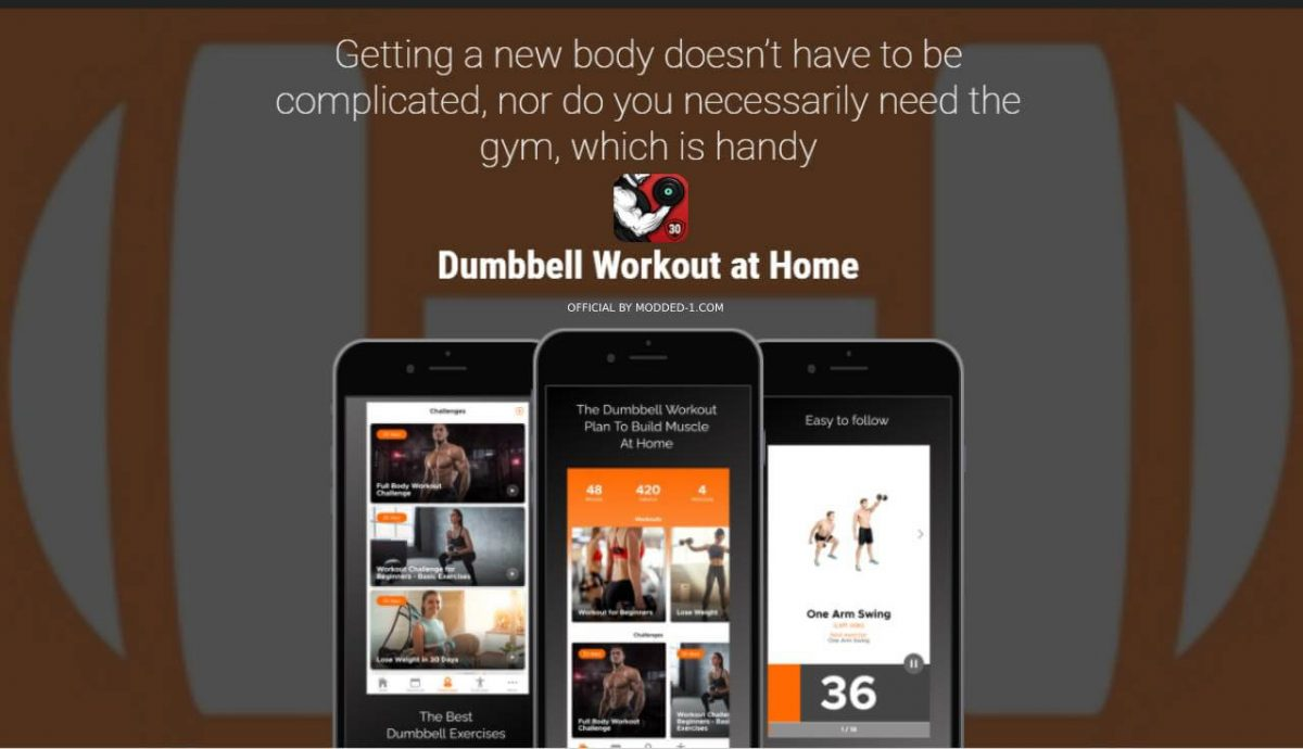 cover dumbbell workout at home
