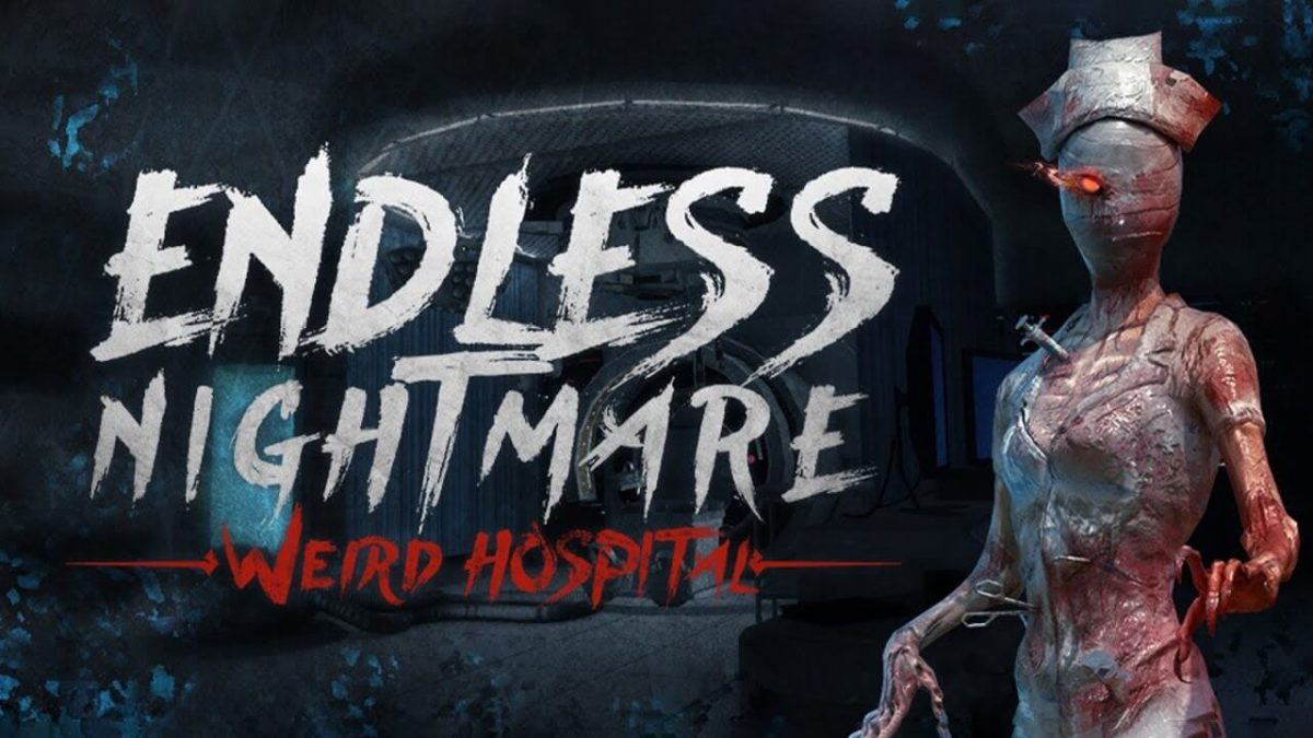 cover endless nightmare weird hospital