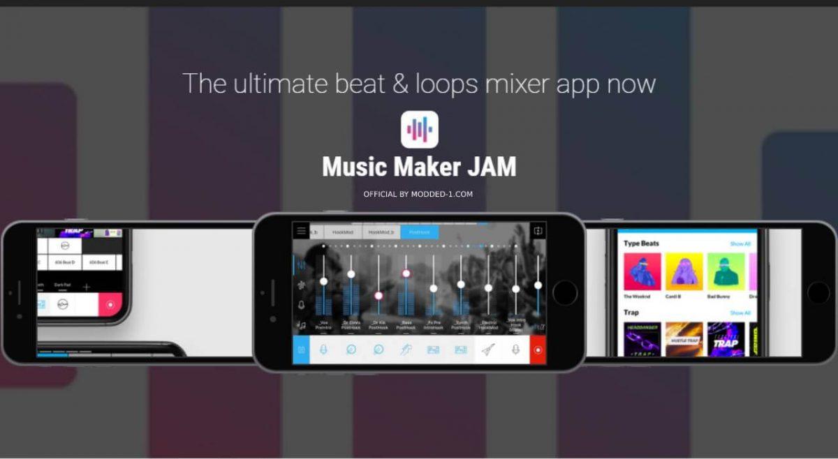 cover music maker jam