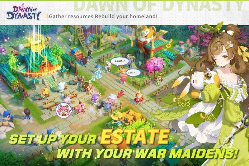 download dawn of dynasty mod money