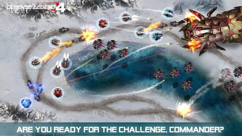 download defense legend 4 mod money