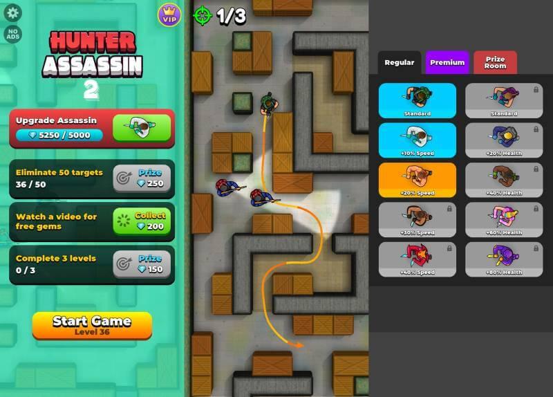 download hunter assassin 2 mod apk