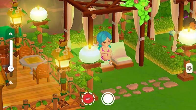 download my little paradise mod apk