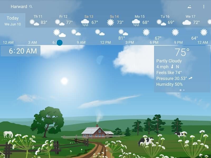 download yowindow weather apk
