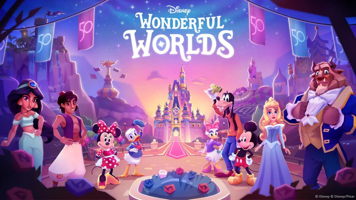 cover disney wonderful worlds