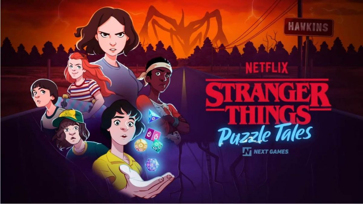 cover stranger things puzzle tales
