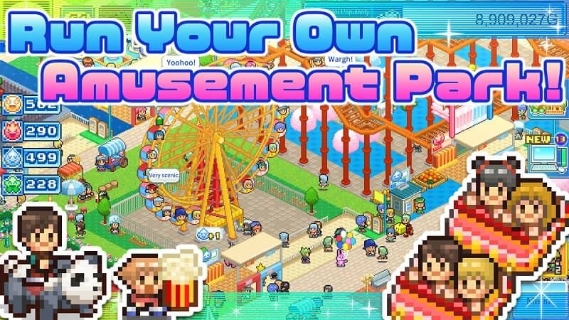 download dream park story mod apk