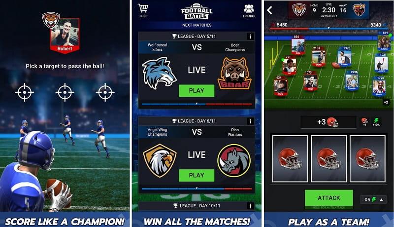 Football Battle – Touchdown!