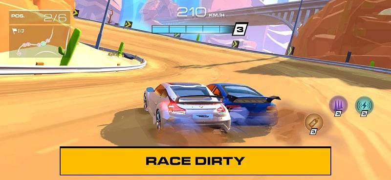 download racing clash club mod